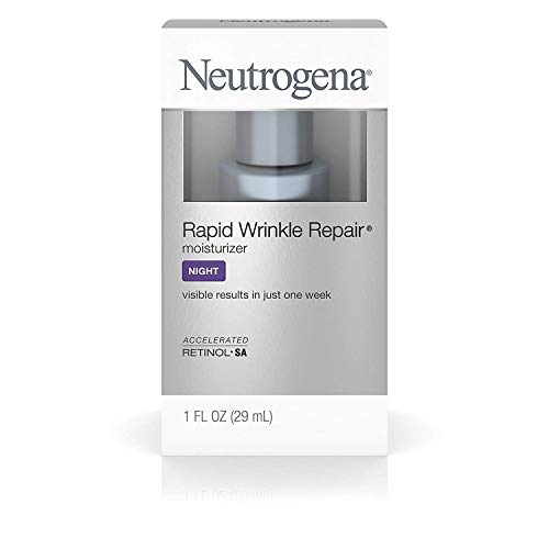 Neutrogena Rapid Wrinkle Repair Moisturizer 1 Notte oncia (29ml) (6 pezzi)