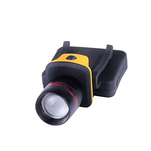 Yaxuan Außenrauchtlicht, Neue Focus Clip Cap Light Glare Long-Range Fishing Led Camping Jagd,Yellow