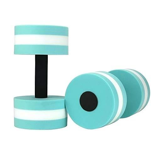 liuhe 2pcs EVA espuma Aqua mancuernas agua aeróbicos natación piscina flotador acuático Barbell