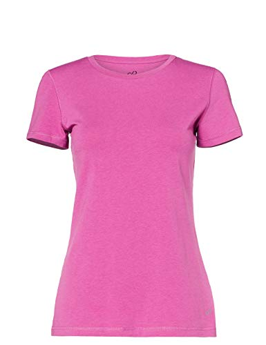 CARE OF by PUMA Camiseta Active de manga corta para mujer, Rosa (Pink), 40, Label: M
