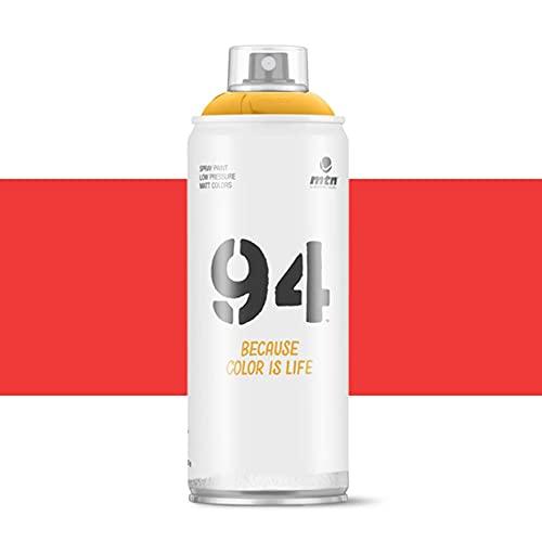 Pintura en spray MTN 94 RV-3020 Rojo Claro 400ml