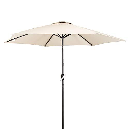Charles Bentley Metal Patio Garden Umbrella