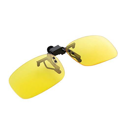 ZYIZEE Gafas de Sol Clásico Clip de Lente de visión Nocturna de conducción Gafas de Conductor de Coche Gafas de Sol polarizadas Anti-UVA UVB Accesorios Interiores