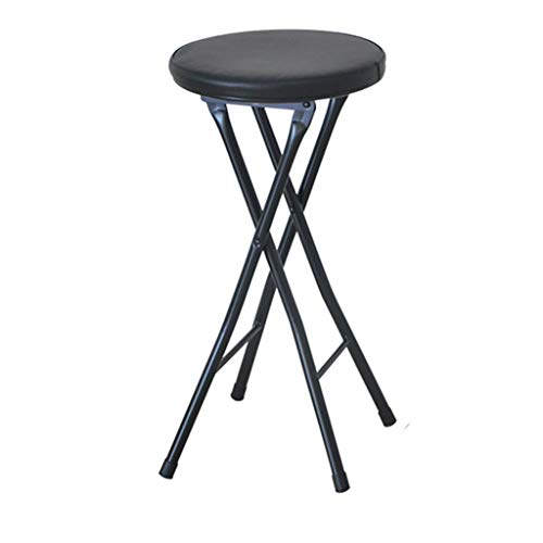 Taburete Plegable Alto Negro Marca LP Bar stool