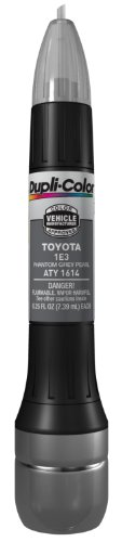 Dupli-Color ATY1614 Phantom Grey Pearl Toyota Exact-Match Scratch Fix All-in-1 Touch-Up Paint - 0.5 oz.
