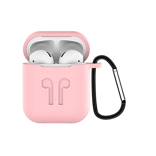 Wireless Bluetooth Earbuds huntec Wireless Headset HiFi Stereo Noise Cancelling in-Ear Headphone with Shockproof Silicone Charging Case