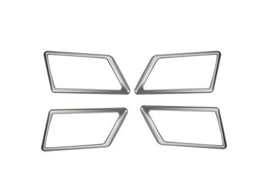 Accessoire intérieur de véhicule Automatique, pour GLK X204 GLK 200 260 2009-2015, Garniture de Cadre de Porte de Voiture, Garniture Plastique ABS chromé Argent, 4 pcs/Set