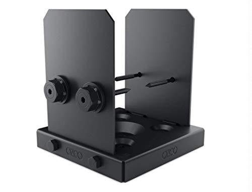 OZCO 52108 Ironwood Lite 6x6 Post Base, (1 per Pack)