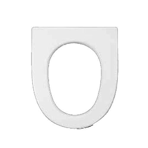 Copriwater dedicato per Serie Maiora Hatria Spea in Resina Poliestere colata Bianco Lucido - Coperchio Sedile tavoletta per WC - Massima qualita' Garantita