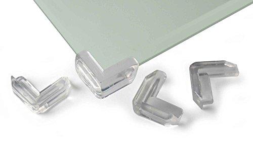 Reer Paraspigoli per tavolo di vetro, set da 4
