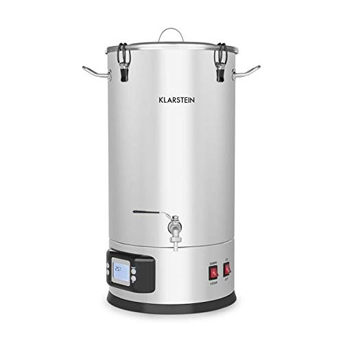 Klarstein Maischfest • • 25-Liter Capacity Beer Brewing Device • Mash Tun • 5-Piece Set •...