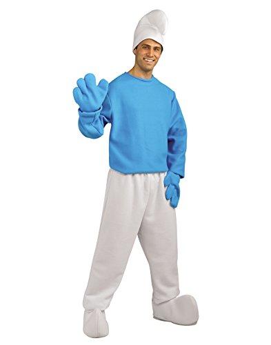 Rubie's Men's Deluxe Smurfs The Lost Village Boy Smurf Costume