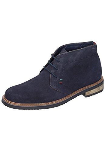 Manitu Herren 660257 Desert Boots, Blau (dunkelblau), 45 EU