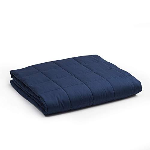YnM Weighted Blanket — Heavy 100% Oeko-Tex Certified...