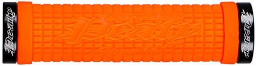 Lizard Skins Peaty Unisex Adult's Bicycle Handles, Tangerine, One Size