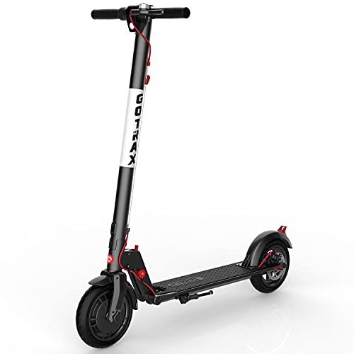 Gotrax XR Ultra Electric Scooter, 36V/7.0AH Battery Up to 17 Miles Long-Range, Powerful 300W Motor & 15.5 MPH, UL Certified Adult E-Scooter for Commuter (Deep Black)