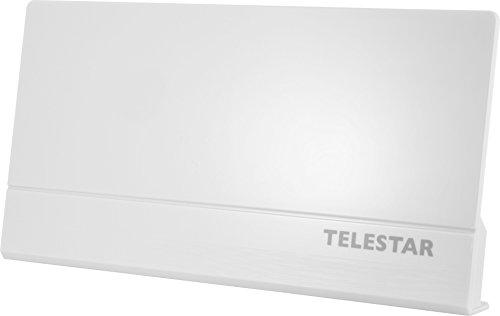 Telestar ANTENNA 9 LTE actieve antenne (DVB-T2 HD/DVB-T,FM, DAB+, Full HD, versterking: 45 dB, LTE-filter) wit