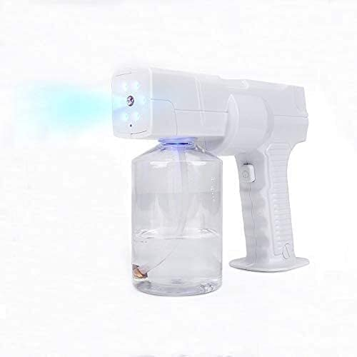 JYMBK Blue 5 ☆ very popular Ultra-Cheap Deals Light Electric Steam Gun Portable Fogger Sprayer Atom