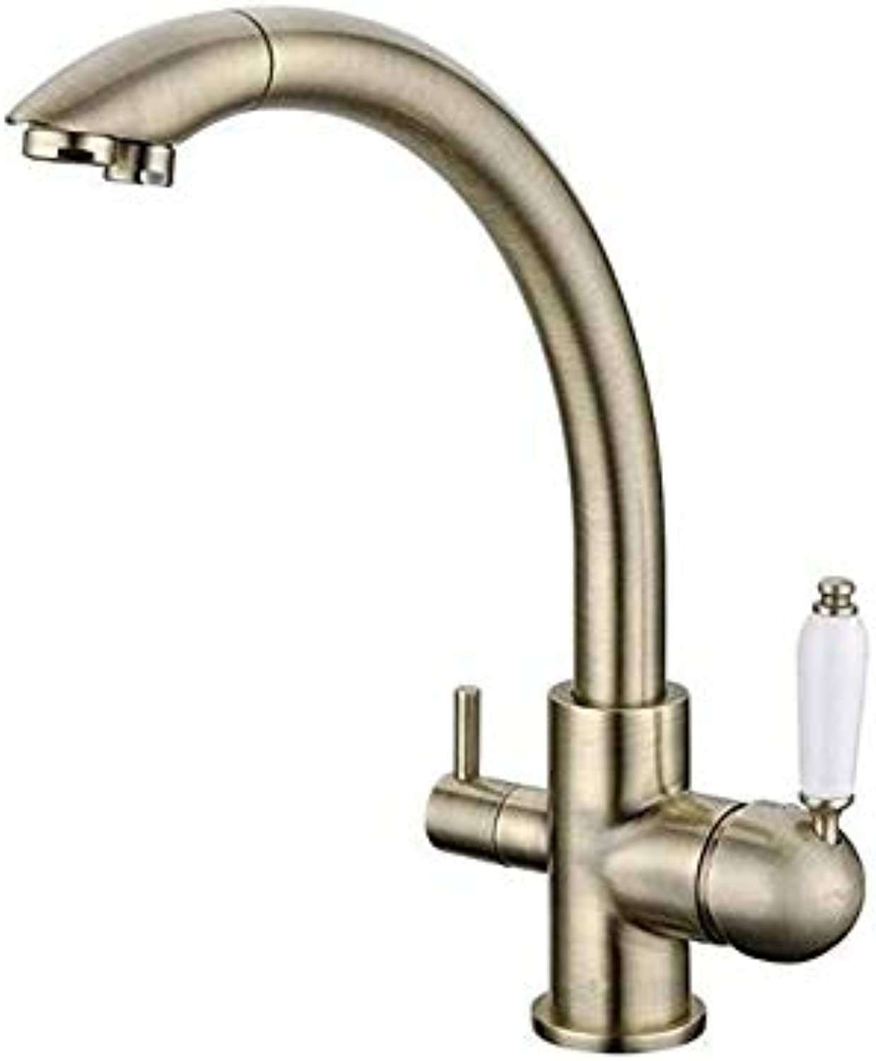 Pull-Out Kitchen hot and Cold tap wash Pot Telescopic Swivel Dishwasher tap