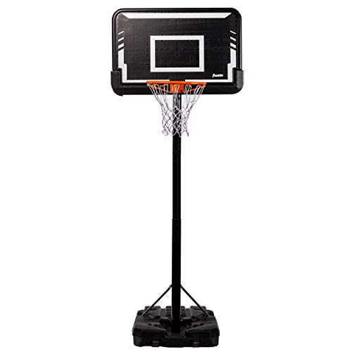 Franklin Sports Adjustable Portable Basketball Hoop - Adjustable...