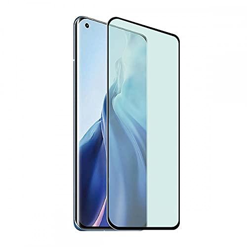 muvit - Protector de pantalla de cristal templado para Xiaomi Mi 11, Tiger Glass Plus