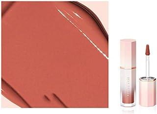 DEAR DAHLIA.Blooming Edition Petal Touch Plumping Lip Velor(0.13 OZ. / 3.8 g) (# WHISPER) with sun cream(1ml3ea)