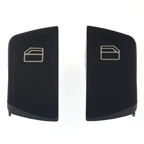 Fuaensm 1 par de cubiertas de interruptor de ventana para Mercedes-Benz Vito Sprinter MK2 W906 2005-2015 interruptor de ventana eléctrica tapas de consola para izquierda derecha