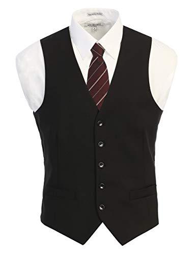 Gioberti Mens Formal Suit Vest 4
