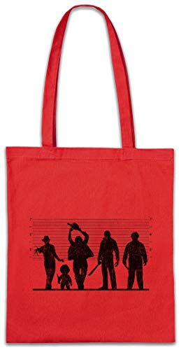 Urban Backwoods Horror Suspects Boodschappentas Schoudertas Shopping Bag