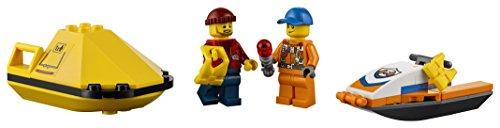 Ensemble de Construction LEGO City - Avion de Sauvetage en Mer de la Garde Côtière, 141 pièces - 4