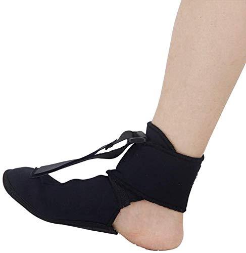 Fersensporn Nachtschiene Fallfuß Orthotic Brace, Einstellbare elastische Rückennachtschiene for Fersensporn, Ferse, Knöchel, Arch Foot Pain, Achillessehnenentzündung 9.1 ( Color : A , Size : Large )