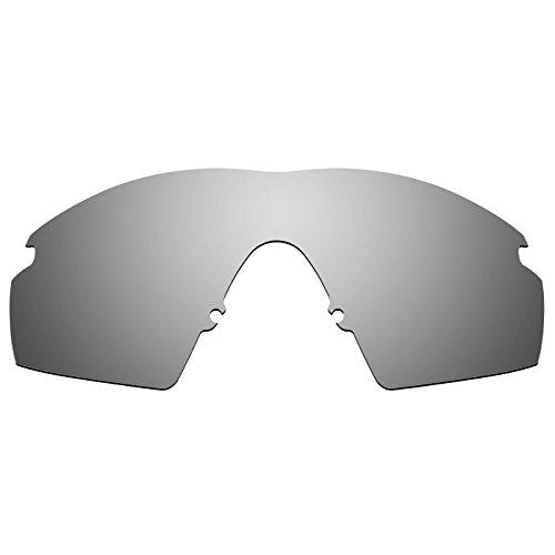 Acompatible Ersatzgläser für Oakley M Frame Strike (1999 Jahre) Sonnenbrille, Titan-Spiegel, polarisiert., Größe S