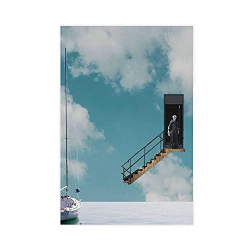 Affiche du film The Truman Show classique 3 sur toile pour chambre à coucher, sport, paysage, décoration de bureau, idée cadeau, 20 × 30 cm sans cadre