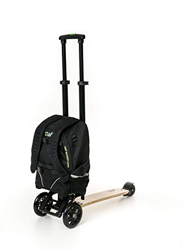 Olaf Unisex– Erwachsene Urbaner Scooter, Schwarz, Einheitsgröße