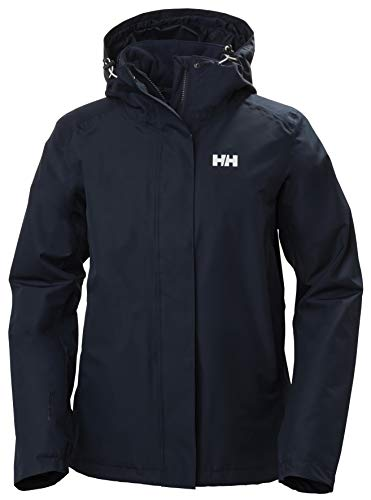 Helly Hansen Women Squamish 2.0 3-in-1 Zip Out Insulator and Waterproof Shell Jacket - Navy, Large