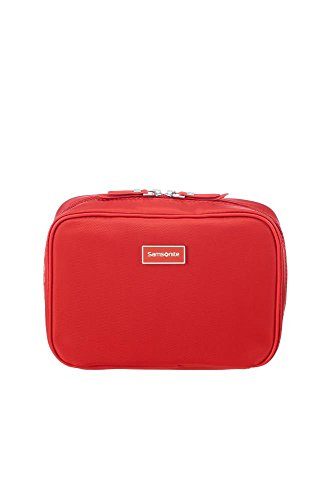 Samsonite Karissa Cosmetic Cases - Bolsa de Maquillaje, 22 cm, Rojo (Formula Red)