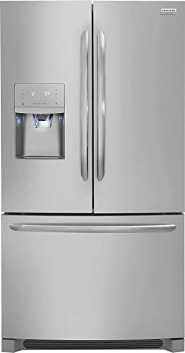 'Frigidaire Gallery Stainless Steel French Door Counter Depth Refrigerator'