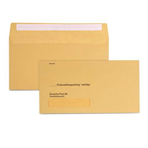 500 x Äußere Postzustellungs-Hüllen Postzustellungshüllen Postzustellungsumschläge 3491015