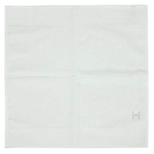(エルメス) エルメス タオル H102273M01 HERMES ソルド ベビー カレタオル QUARTZ コットン100% BLANC ホワイト ハンドタオル [並行輸入品]