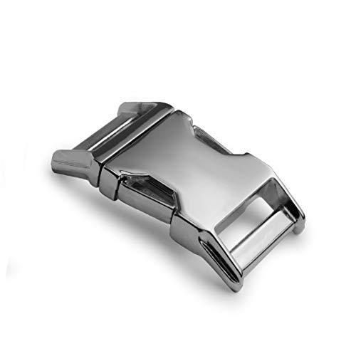 Alumaxx Lot de 2 fermetures à clic métalliques 3/4\