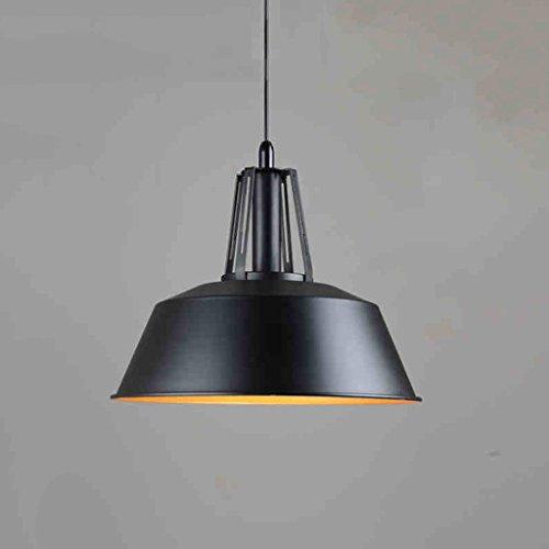 Style américain rétro Style Industriel Restaurant Lustre loft Noir Moderne Minimaliste extérieur Hall café Lampes