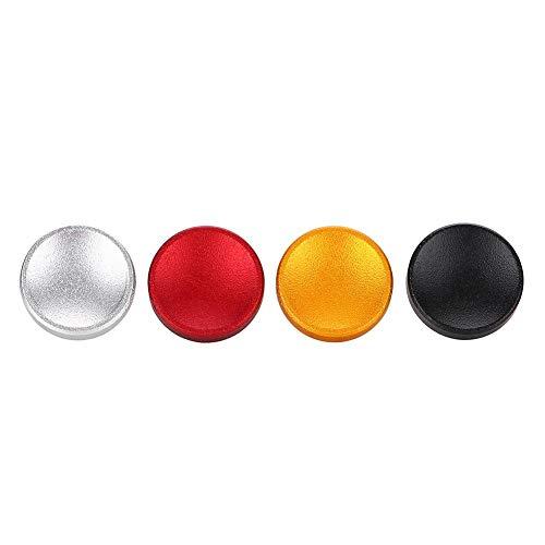 Tangxi 4Pcs Botones de liberación del Obturador con Interfaz de Rosca cónica para Fujifilm X100 X100S X10 X20 X-E1 XT10 XT20 XE2S X100F, para Nikon Rojo, Negro, Plateado, Dorado