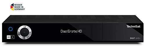 günstig TechniSat DIGIT UHD + – UHD / 4K-Empfänger mit Doppeltuner (Sat DVB-S / DVB-S2, DVB-C-Kabel, DVB-T2 HD,… Vergleich im Deutschland