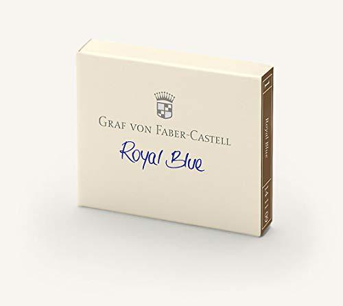 Graf von Faber Castell Tintenpatronen GvFC Royal Blue 6x