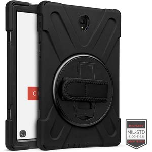 Sale!! Cellairis Rapture Case for Samsung Galaxy Tab S4 10.5 T837 - Rapture Rugged Bk T837