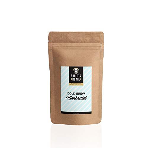 20 Premium Cold Brew Filter für Kaffee & Tee | Einweg-Kaltbrühbeutel | ideal für schonende Kaffeezubereitung | Bulletproof