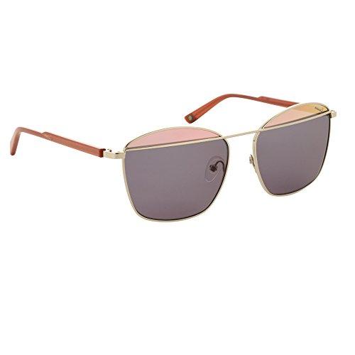 Vespa Sonnenbrille Damen Roségold glänzend Gläser Grey Gradient VP2209 C03 56-16-140