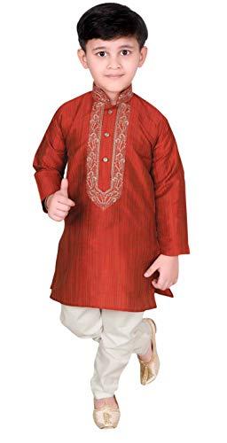 Desi Sarees Niños Kurta Pijama Sherwani Bollywood Theme 957