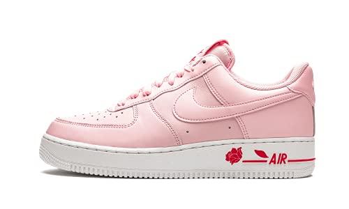 Nike Air Force 1 '07 LX, Zapatillas de bsquetbol Hombre, Pink Foam Univ Red White, 43 EU