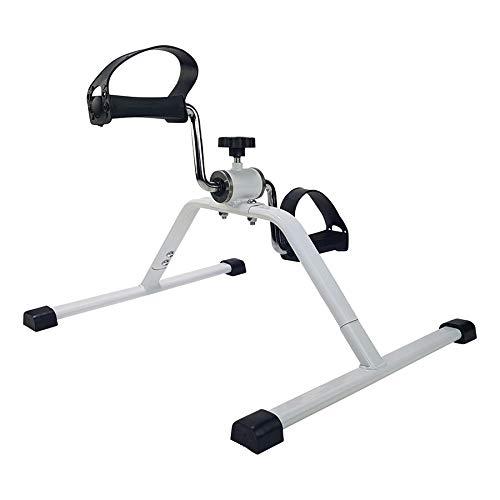Tunturi Mini Bike, Unter-Tisch-Fahrrad, Armtrainer, Beintrainer, Bewegungstrainer für Senioren